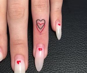 tattoo, beauty, and heart image