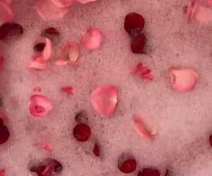 bath, pink, and valentines day image