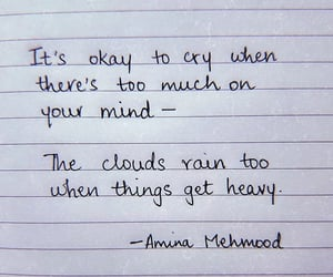 quotes, cry, and words image