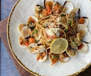cooking, food, and garlic image