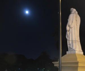 estatua, luna, and moon image