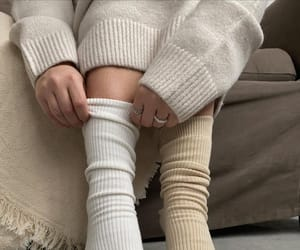 beige, cold, and cozy image