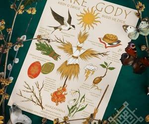 illustration, slavic folklore, and spring image
