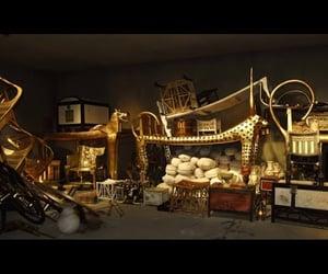 ancient egypt, video, and tutankhamun treasures image