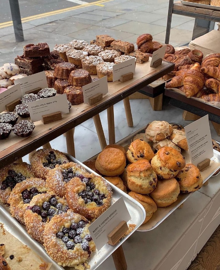 food, pastry, and bakery image
