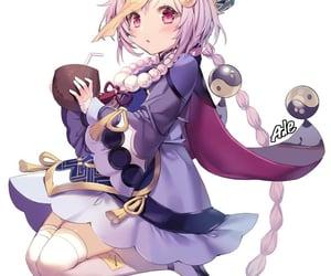 anime, genshin impact, and anime girl image