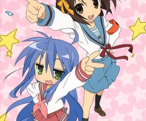 anime and lucky star image