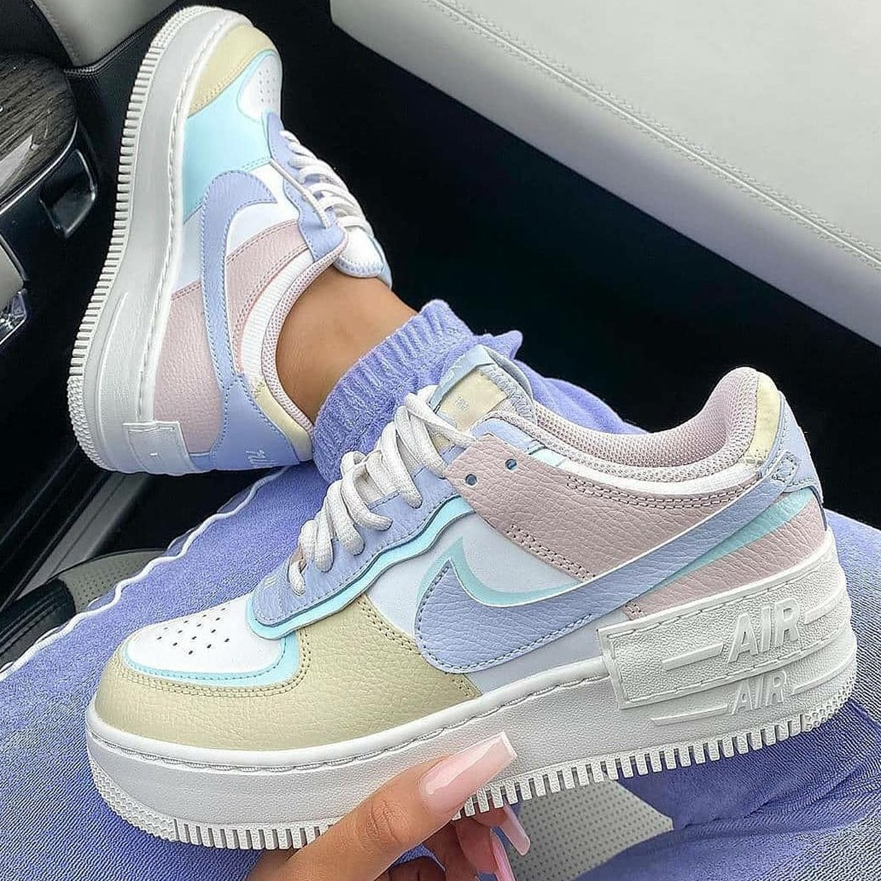 shoes, AF1, and air force 1 image