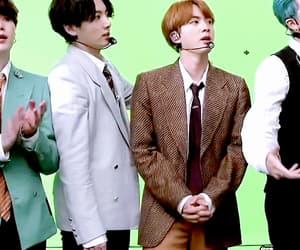 seokjin, jungkook, and jimin image