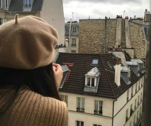 girl, aesthetic, and city image