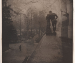 color pencil, holga, and multiple exposure image