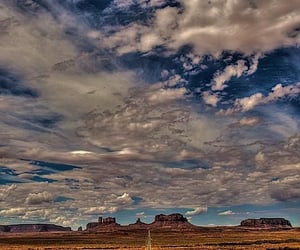 arizona, clouds, and road image