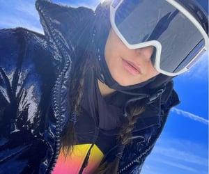 Nina Dobrev, Skiing, and cold image