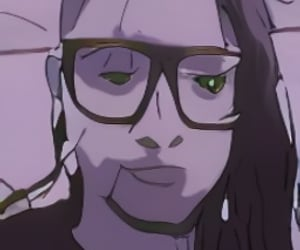 anime and skrillex image