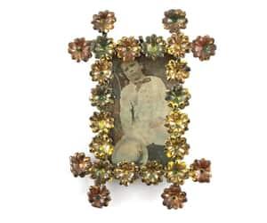 etsy, floral photo frame, and bridal frame image