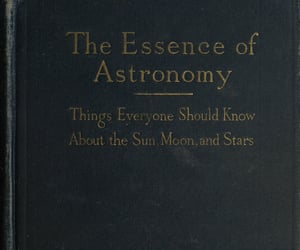 astronomy, book, and cover image