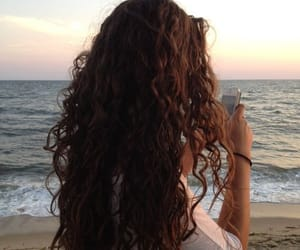 curly and hair image