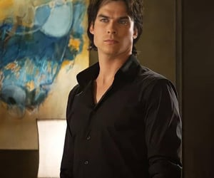 aesthetic, black, and ian somerhalder image