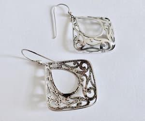 etsy, pierced earrings, and boho earrings image
