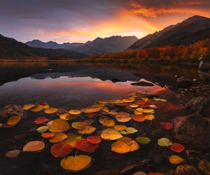 Sunset, North Lake