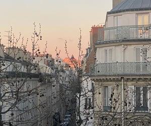 paris, photographie, and sunset image