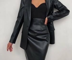 skirt, black, and noir image