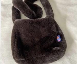 bag, brown, and furry image