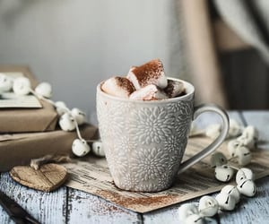 chocolate, cozy, and marshmallow image