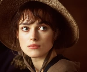 actress, brunette, and keira knightley image