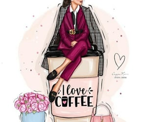 bag, chic, and fashion illustration image