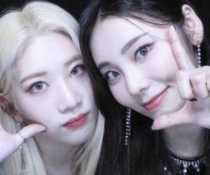 jinsoul, kim lip, and loona image