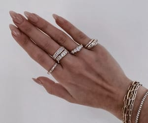 nails, bracelet, and jewellery image