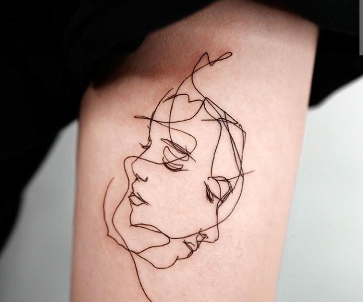 people, tattoo, and tatuaggi image