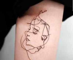 tattoo, people, and tatuaggi image