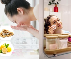 glowing skin and skin care tips image
