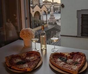 food, florence, and pizza image