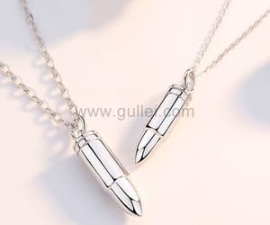 jewelry, necklaces, and couple jewelry image