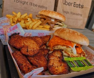Chicken, yummy, and fast food image