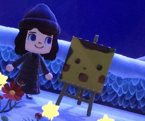 animal crossing, nintendo switch, and blue image