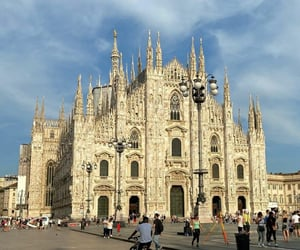 italy, milan, and aes image