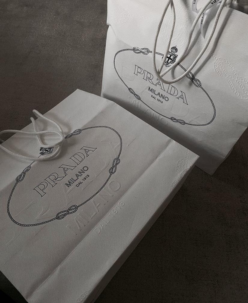 bag, shopping, and Prada image