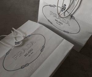 shopping, bag, and Prada image
