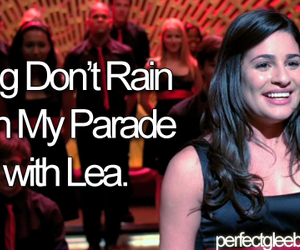 duet, glee, and lea michele image