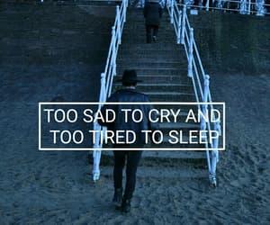 blue, sadness, and depressed image