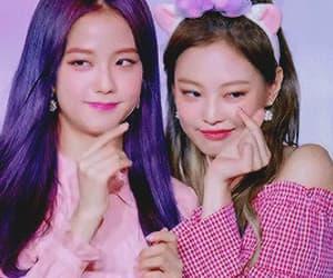 gif, 블랙 핑크, and jennie image