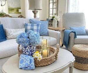azul, belleza, and decoracion image