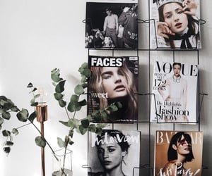 bedroom, inspiration, and magazines image
