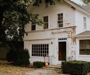 Halloween, house, and orange image
