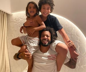 babies, enzo vieira, and daddy image