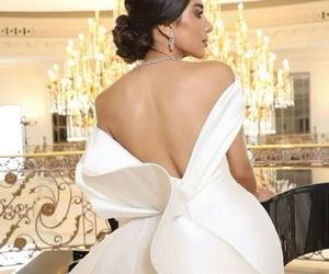 fairytale, glamour, and weddingdress image